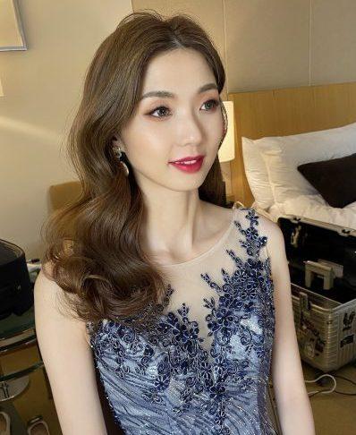新竹新秘 新娘造型 捲髮造型