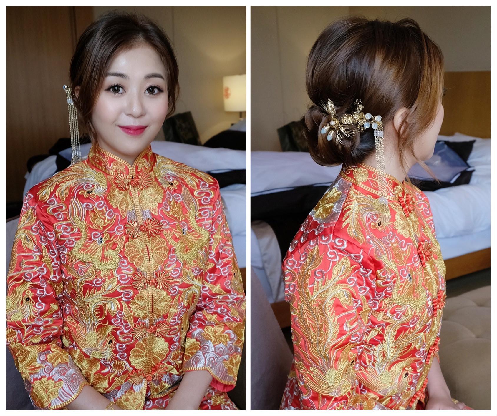 中國風新娘造型 新竹新秘