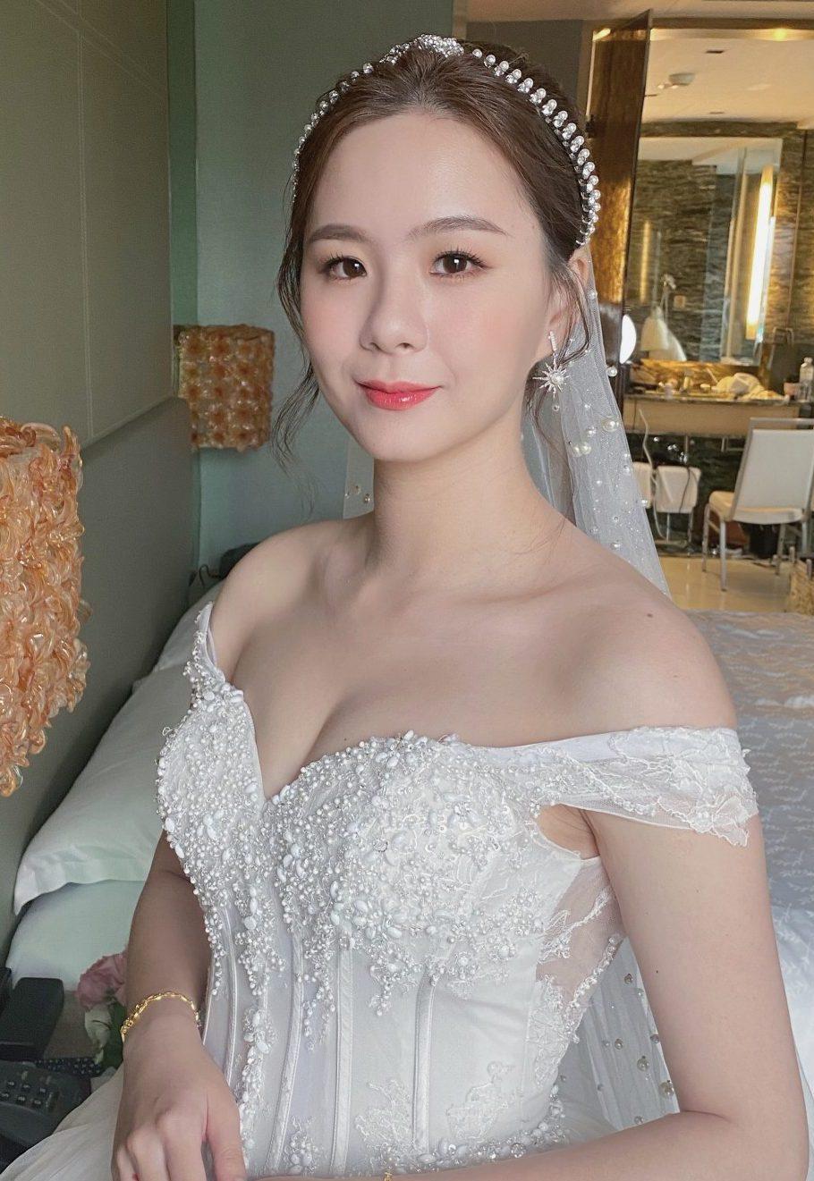 新娘化妝 韓風新娘 自然新娘 新竹新秘 新娘造型 白紗造型